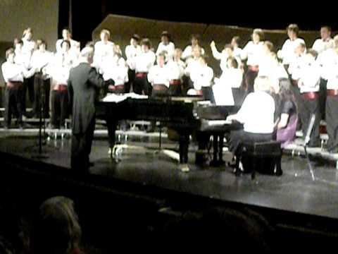 Nevada Union HS Men's Choir Spring 2010 Johnny Schmoker