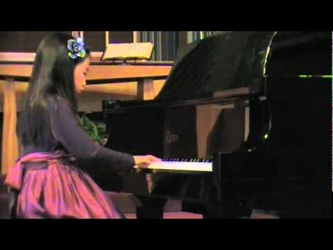 Elysha's Piano Recital: Sonatina Op.55 No.3 Mov.1 Kuhlau - 2011-03-26