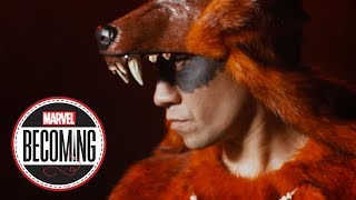 Taboo of Black Eyed Peas Becomes Red Wolf - Marvel Becoming