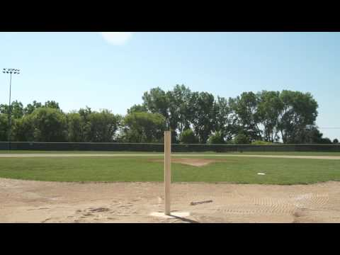 Good Wood Baseball Bats vs. Bad Wood Baseball Bats - and importance of hitting on the sweet spot