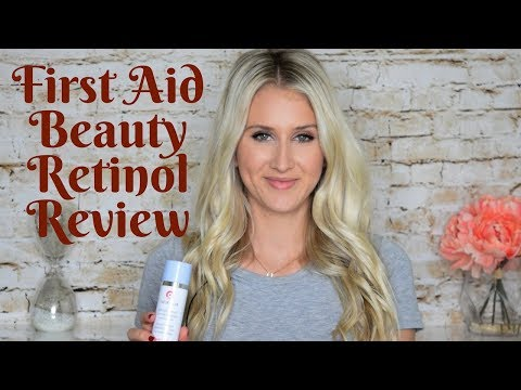 First Aid Beauty Fab Skin Lab Retinol Serum Review