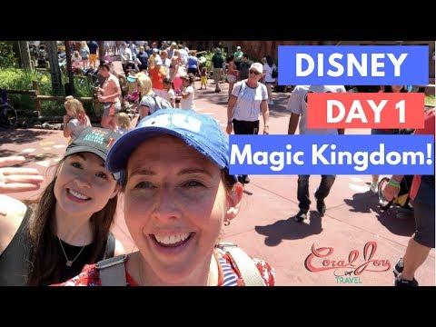 Walt Disney World Vlog: Day 1 Travel Day   Magic Kingdom   April 2018