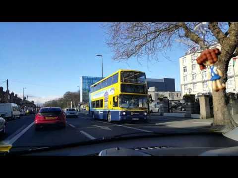 Driving in Dublin,Ireland