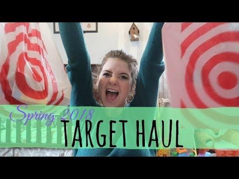 TARGET DOLLAR SPOT HAUL | SPRING 2018