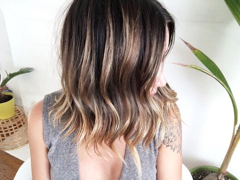 Perfectly Messy Long Bob: Hair Tutorial!