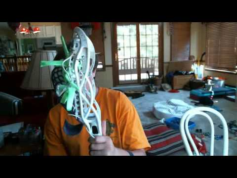 How to add hold to your lacrosse stick