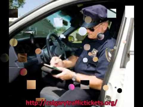 Calgary Traffic Tickets