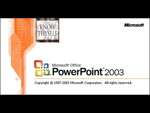 How To Make Slide  Design & Background, Microsoft PowerPoint 2003, Part-2