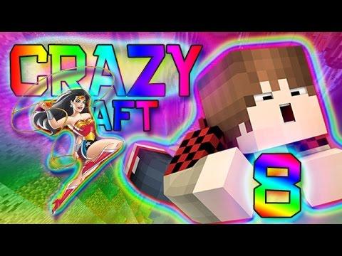 Minecraft: Crazy Craft 2.0 Modded Survival w/Mitch! Ep. 8 - Golden Lasso Fun! (Crazy Mods)