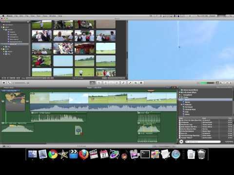iMovie 11 Tutorial - Working with Audio - The Basics