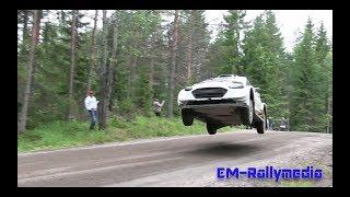 Sebastien Ogier FLYING test for Rally Finland 20.7.2017