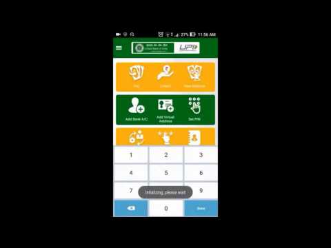 UPI Banking app How to use Demo