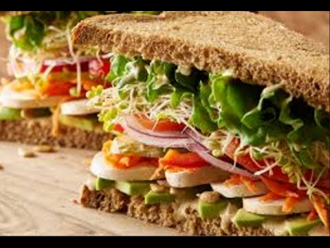 Vegetarian sandwiches -Recipes of vegetarian food