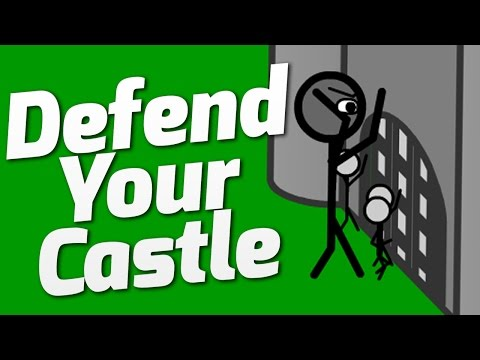 DESTROY THE INVADERS - Defend Your Castle