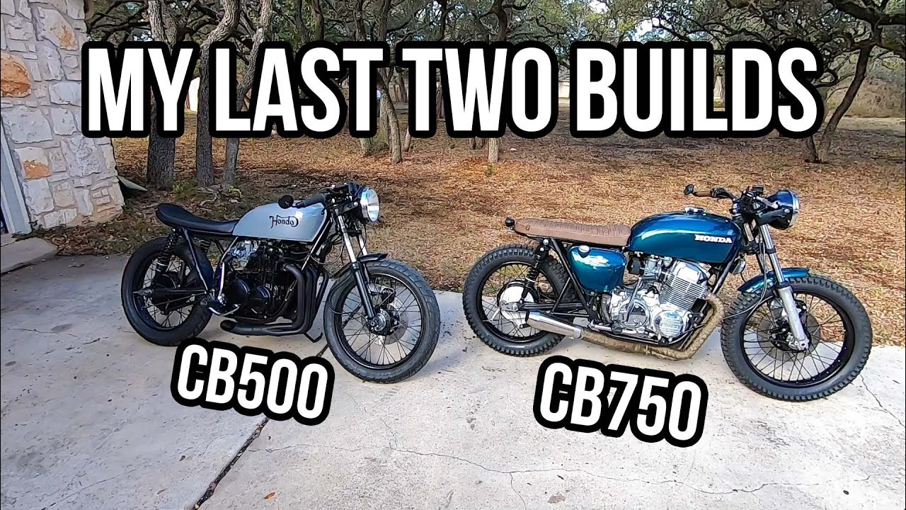 Build overview CB500 and CB750