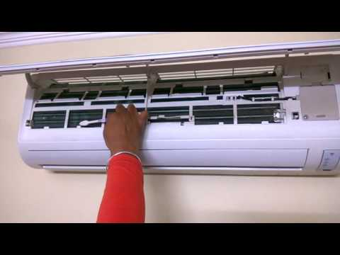 How to service your split AC