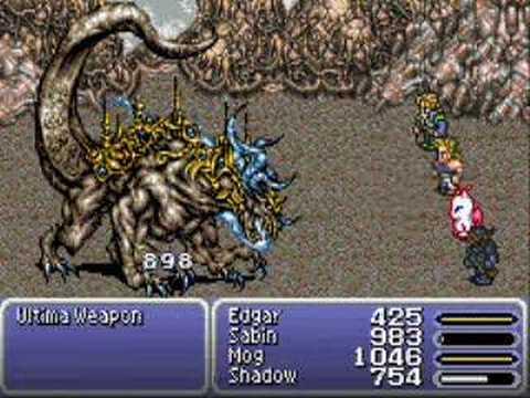 Final Fantasy VI Advance Boss Fight, Ultima Weapon