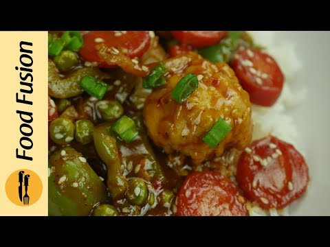 Sweet & Sour Vegetables Recipe By Food Fusion