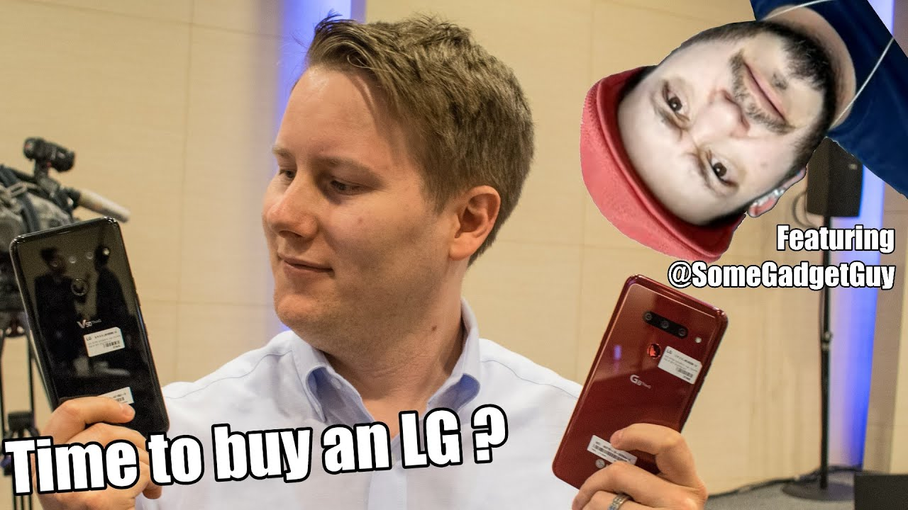 Time to buy an LG Smartphone! 📱🤙 Feat. @JuanBagnell