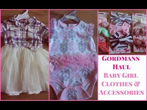 Shop with Me   Gordmans Haul   Baby Girl Clothing   #GotItAtGordmans