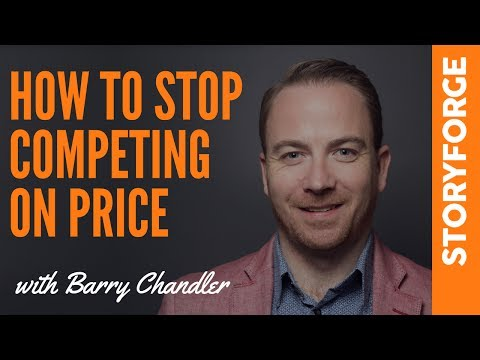 How to stop competing on price