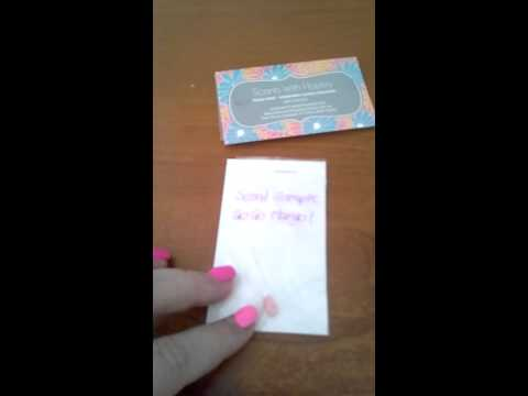 Cheap and easy way to make Scentsy scent samples