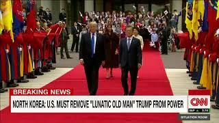 North Korea responds to Trump