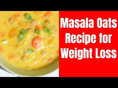 Masala Oats Recipe for Weight Loss   Healthy Diet Recipe - Hindi   Vibrant Varsha