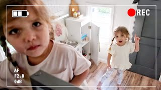SECRET CAMERA CATCHES TWINS IN PLAYHOUSE *SO FUNNY*