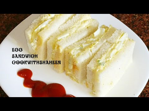 Egg Sandwich | Egg Mayonnaise Sandwich | Egg bread Sandwich | Sandwich Recipes |