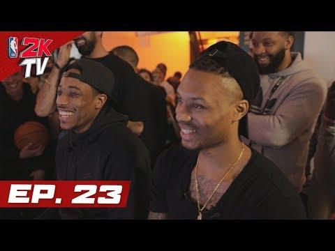 Damian Lillard vs DeMar DeRozan in a 2K Battle! - NBA 2KTV S4. Ep.23