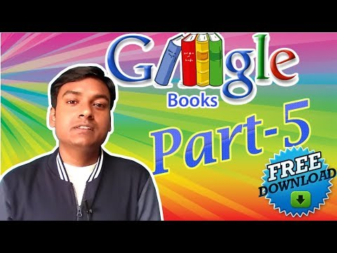 How to Download Google Books for free fully without using any Software   Part-5