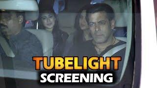 Salman Khan At Tubelight Movie Screening At PVR Cinema