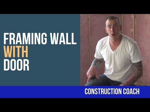 How to Frame a Basement Wall with Door