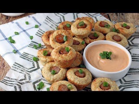 Keto Recipe - Corn Dog Muffins