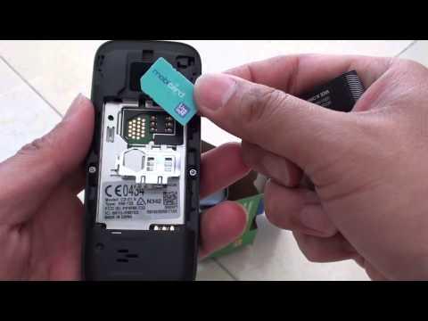 Nokia C2-01: How to Insert SIM Card