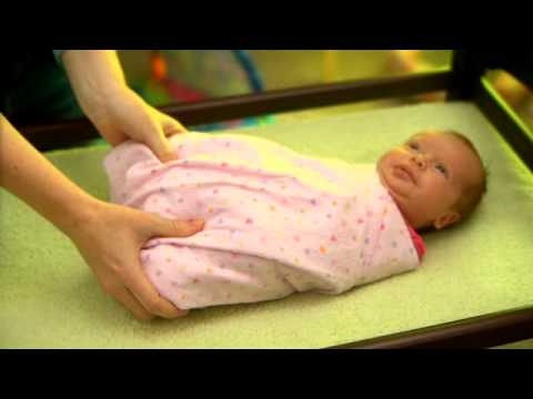 How to Hip-Healthy Swaddle your Baby - IHDI