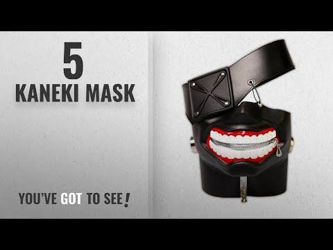 Top 10 Kaneki Mask [2018]: Bamboo's Grocery Tokyo Ghoul Kaneki Ken Cosplay Mask, Party Cool Mask