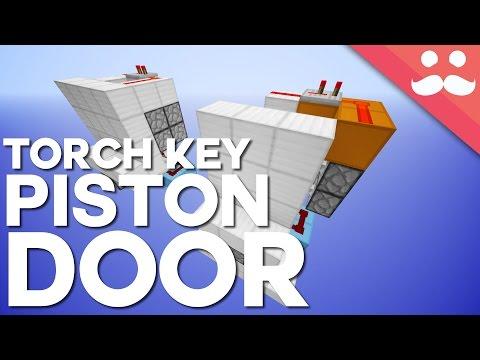 Minecraft: Torch Key Hidden Door! [Day 17!]