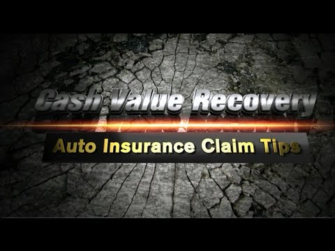 Do Not Use The Blue Book Value For Total Loss Insurance Claim