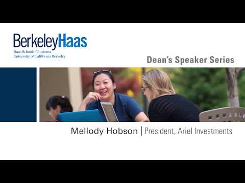 Berkeley Haas Dean's Speaker Series with Mellody Hobson