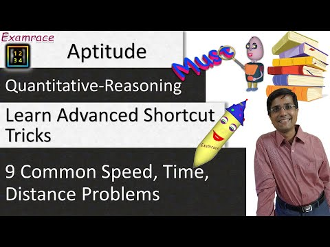 Speed, Time & Distance (Aptitude) - 3 Concepts & Shortcuts: Systematically Solve All Problems
