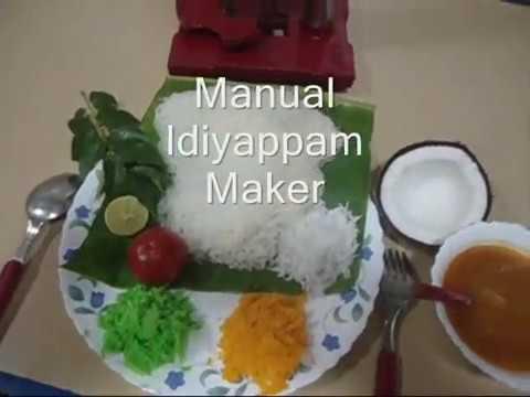 Manual idiyappam maker
