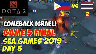 BO5 GAME 5   SEA GAMES 2019   DOTA 2   PHI vs THA (FULL)