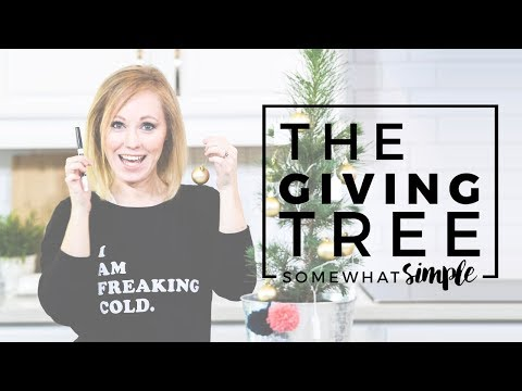 A Season of Service – The Giving Tree