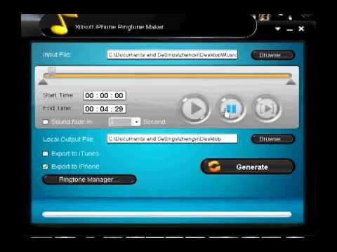 Xilisoft iPhone Ringtone Maker + Downloadlink