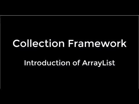05-Introduction of ArrayList