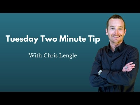 Tuesday Two-Minute Tip- Clean Up Your Facebook Page