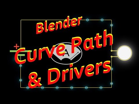 Blender - Curve Path & Drivers