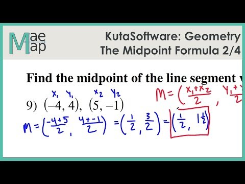 KutaSoftware: Geometry- The Midpoint Formula Part 2